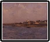 海辺の漁村