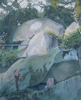 朝長 拓「新緑の鏡岩」