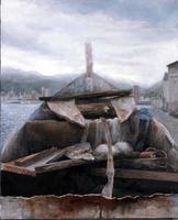 佐藤 泰壱「陸の老船」