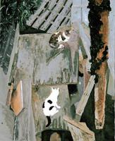 浦田 愛美「二匹の猫」