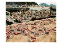 荒光 茜「漁具のひなたぼっこ」