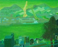 亀井 謙弘「緑色の町」